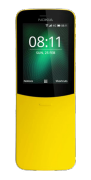 Nokia 8110 Banana, Yellow, 4 GB