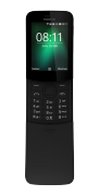 Nokia 8110 Banana, Nero, 4 GB