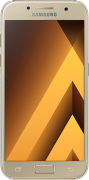 Samsung Galaxy A3 2017, Gold, 16 GB