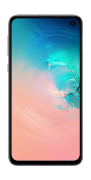 Samsung Galaxy S10E, Prism White, 128 GB