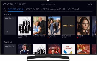 Contenuti salvati | UPC TV Box | UPC